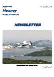 Australia Mooney Pilots Association - Newsletter May 2021